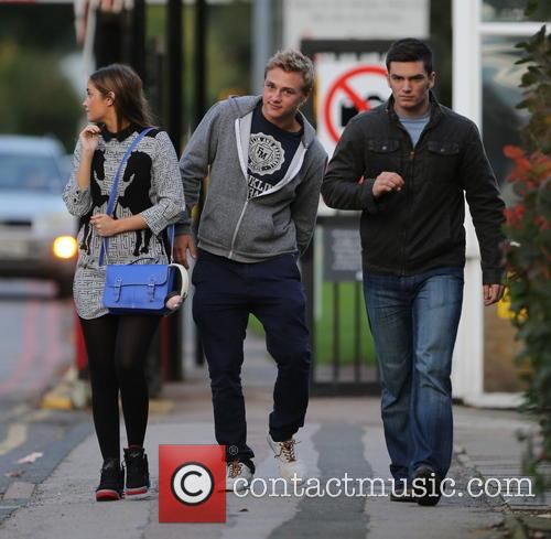 Jacqueline Jossa, Ben Hardy and David Witts 12
