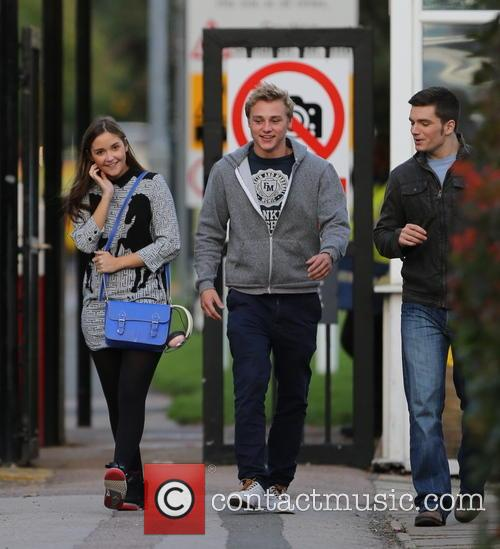 Jacqueline Jossa, Ben Hardy and David Witts 13
