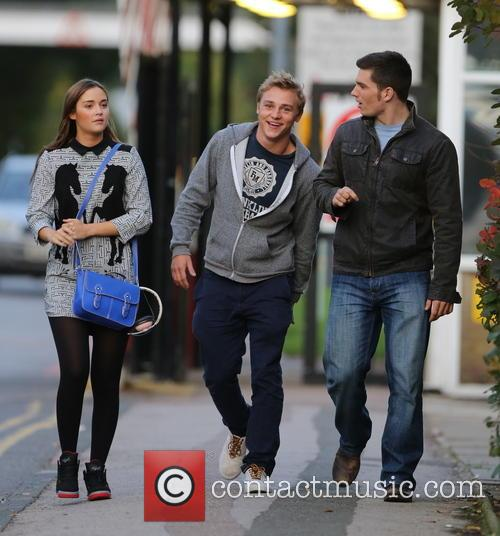 Jacqueline Jossa, Ben Hardy and David Witts 14