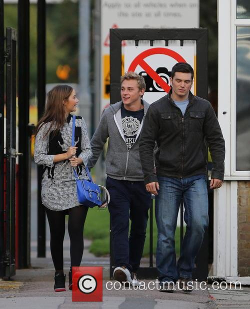 Jacqueline Jossa, Ben Hardy and David Witts 16
