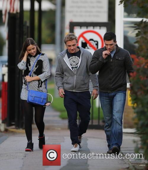 Jacqueline Jossa, Ben Hardy and David Witts 18