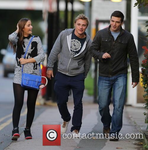 Jacqueline Jossa, Ben Hardy and David Witts 21