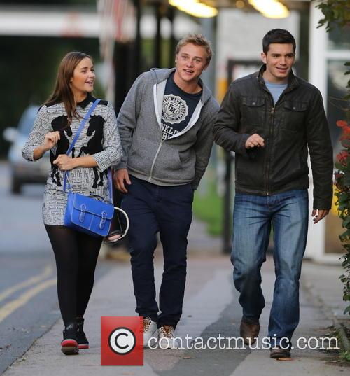 Jacqueline Jossa, Ben Hardy and David Witts 22