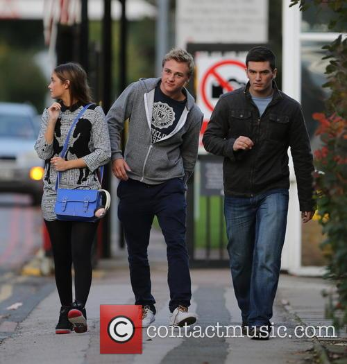 Jacqueline Jossa, Ben Hardy and David Witts 23