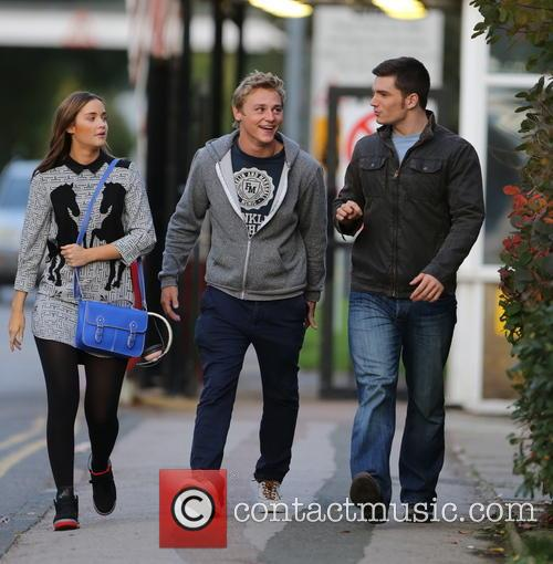 Jacqueline Jossa, Ben Hardy and David Witts 26