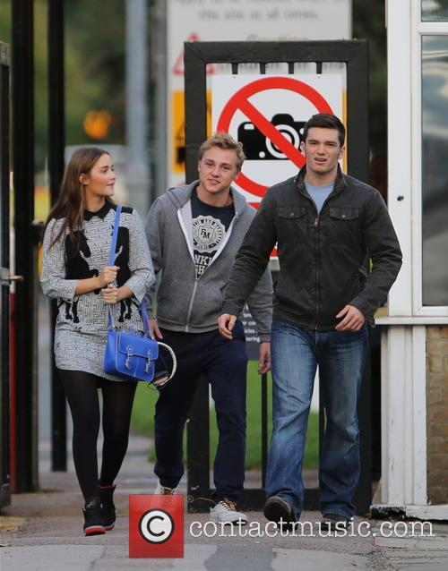 Jacqueline Jossa, Ben Hardy and David Witts 29