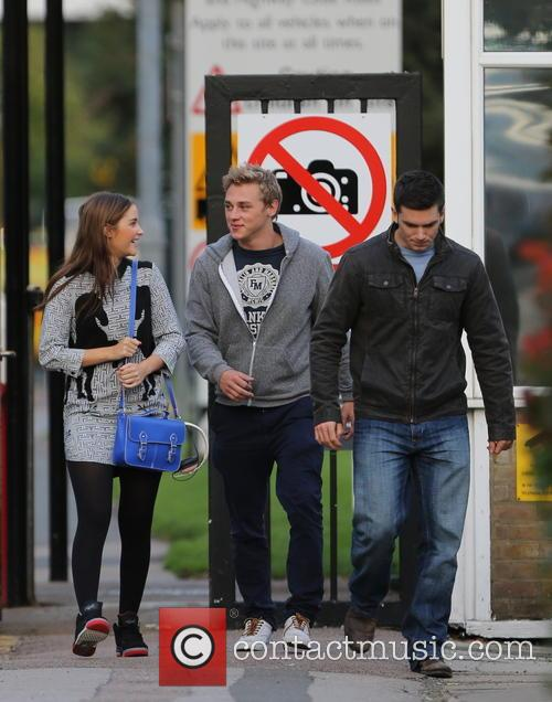 Jacqueline Jossa, Ben Hardy and David Witts 30