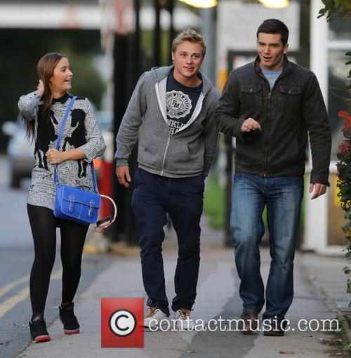 Jacqueline Jossa, Ben Hardy and David Witts 31