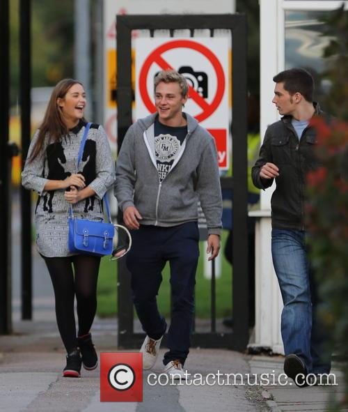 Jacqueline Jossa, Ben Hardy and David Witts 32