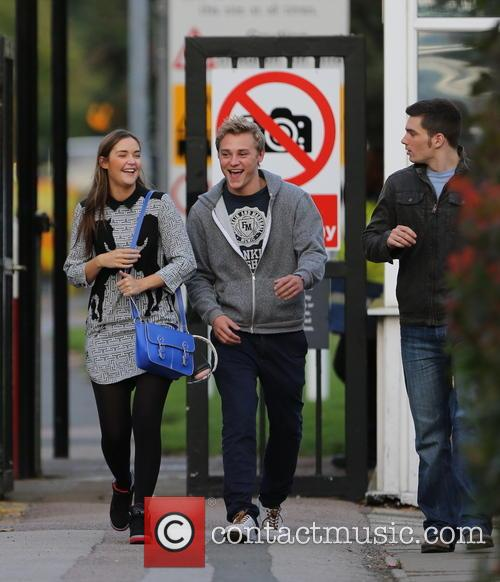 Jacqueline Jossa, Ben Hardy and David Witts 33