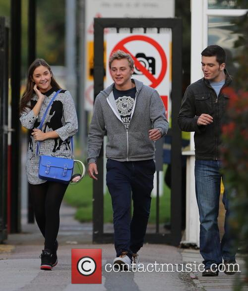 Jacqueline Jossa, Ben Hardy and David Witts 34