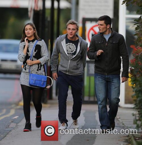 Jacqueline Jossa, Ben Hardy and David Witts 36