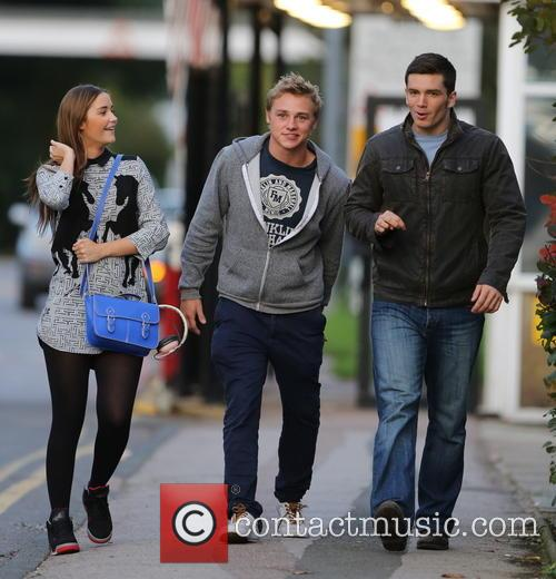 Jacqueline Jossa, Ben Hardy and David Witts 37