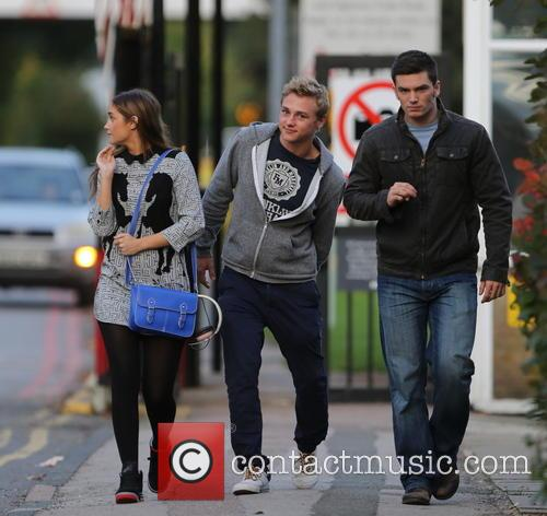 Jacqueline Jossa, Ben Hardy and David Witts 40