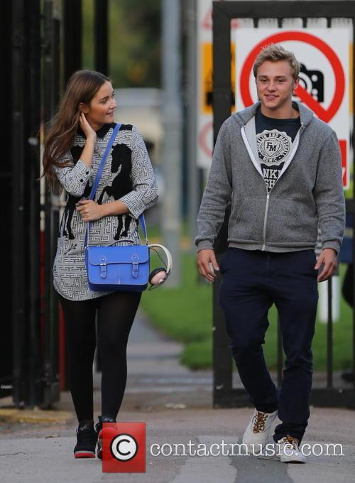 Jacqueline Jossa, Ben Hardy and David Witts 1