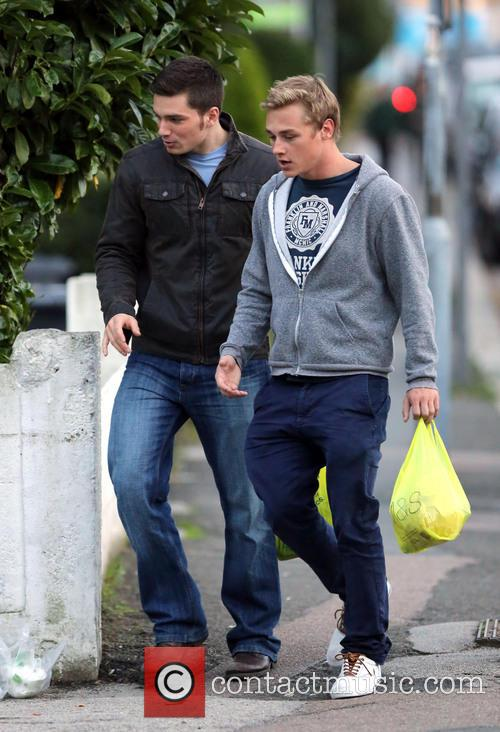Eastenders, Ben Hardy and David Witts 2