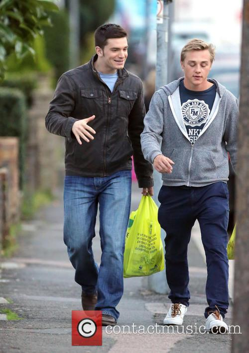 Eastenders, Ben Hardy and David Witts 3