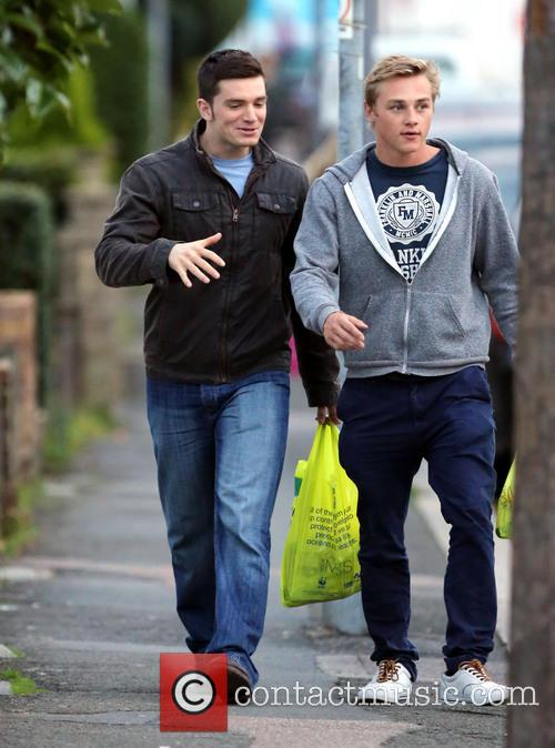 Eastenders, Ben Hardy and David Witts 4