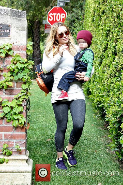 Hilary Duff and Luca 7