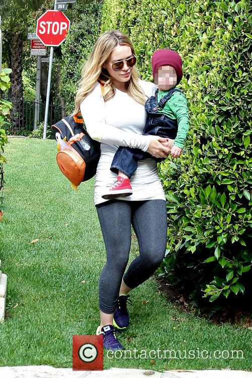 Hilary Duff and Luca 8