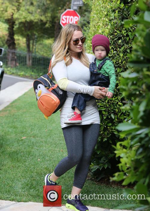 Hilary Duff and Luca 2