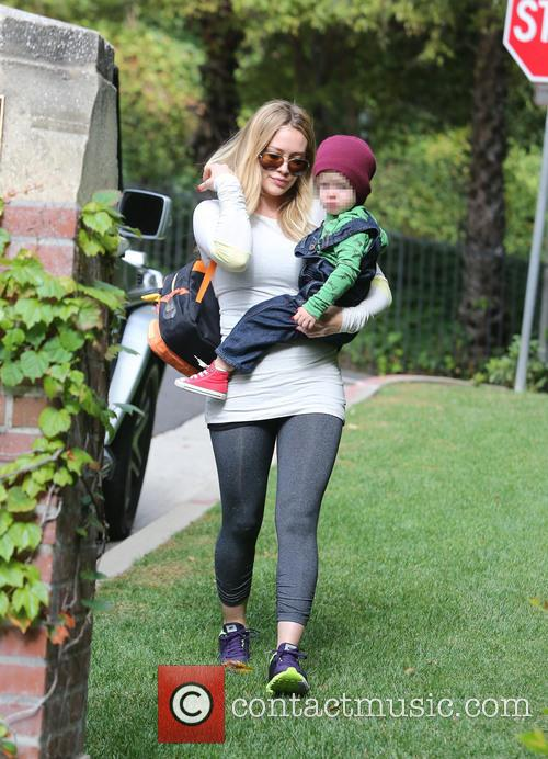 Hilary Duff and Luca 6