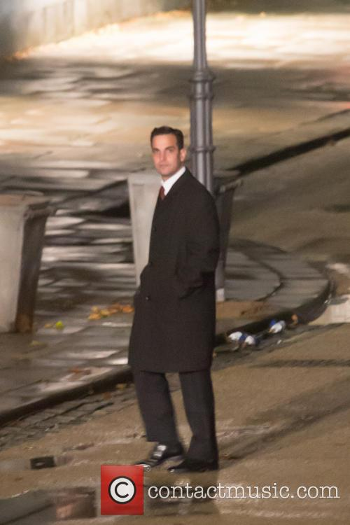 'The Man From U.N.C.L.E' filming