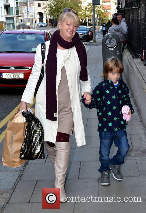 Nicky Byrne and Miriam Ahern With Grandson 4