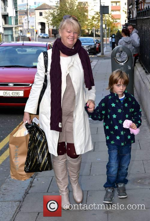 Nicky Byrne and Miriam Ahern With Grandson 5