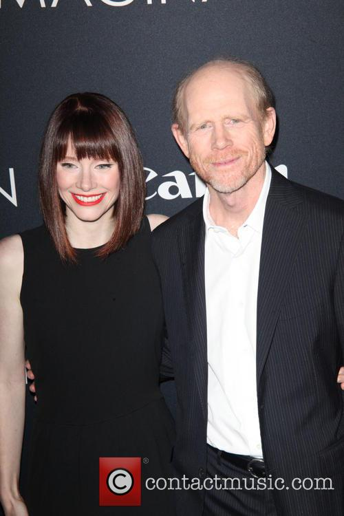Bryce Dallas Howard and Ron Howard 4