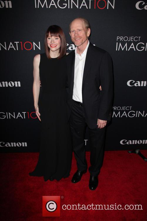 Bryce Dallas Howard and Ron Howard 5