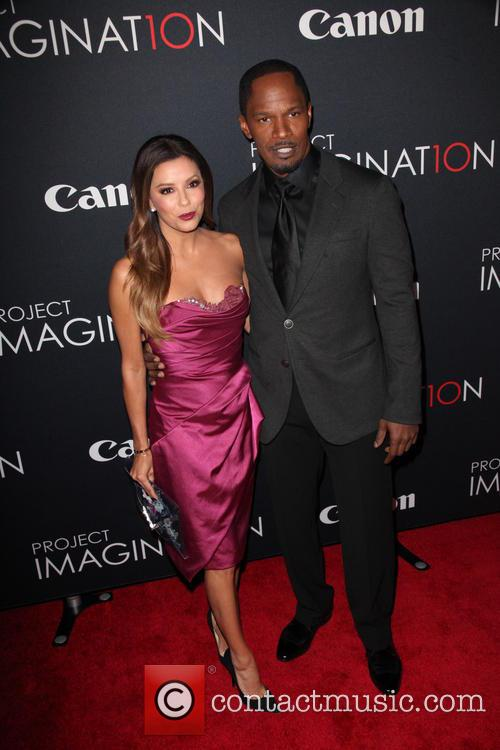 Eva Longoria and Jamie Foxx 2