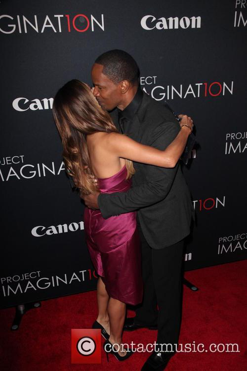 Eva Longoria and Jamie Foxx 1