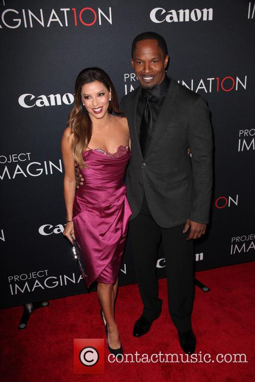 Eva Longoria and Jamie Foxx 4