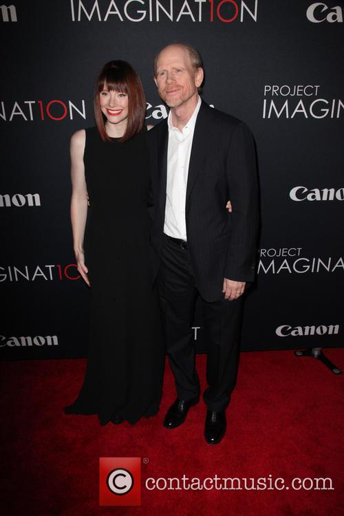 Bryce Dallas Howard and Ron Howard 7