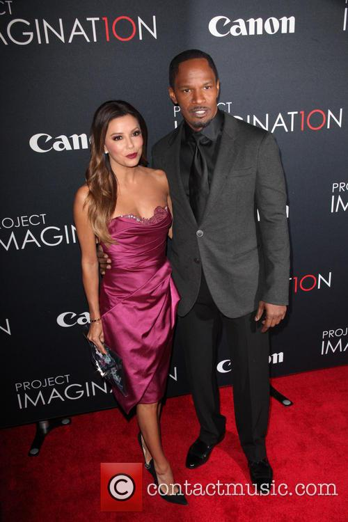 Eva Longoria and Jamie Foxx 8