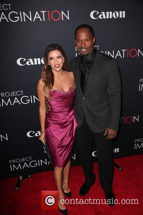 Eva Longoria and Jamie Foxx 9