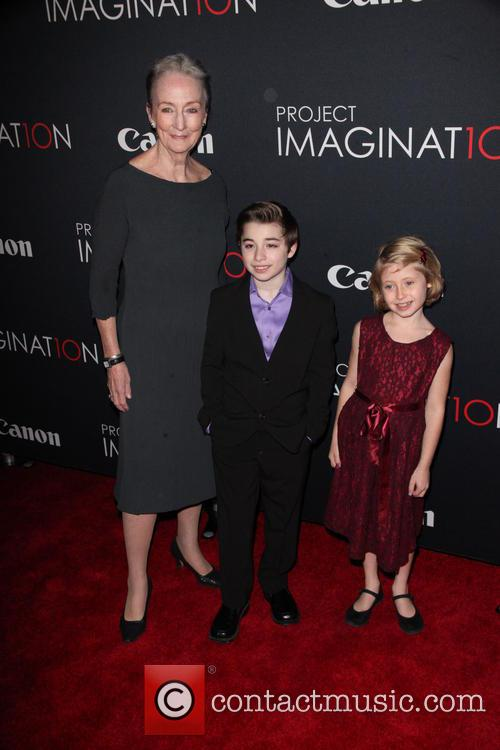 Kathleen Chalfant, Cameron Colley and Remy Bond
