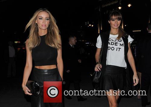 Lauren Pope And Chloe Sims at STK London...