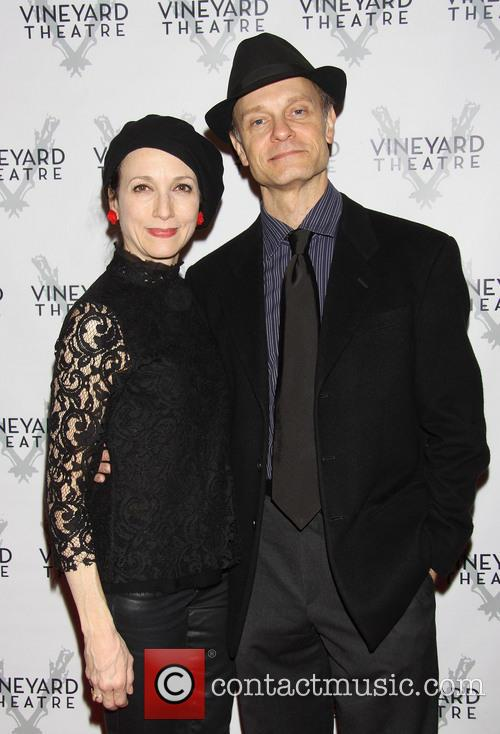 Bebe Neuwirth and David Hyde Pierce 2