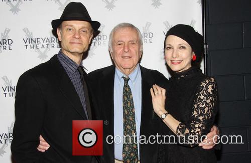David Hyde Pierce, John Kander and Bebe Neuwirth 3