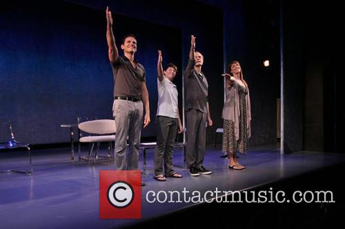 Paul Anthony Stewart, Frankie Seratch, David Hyde Pierce and Julia Murney 3
