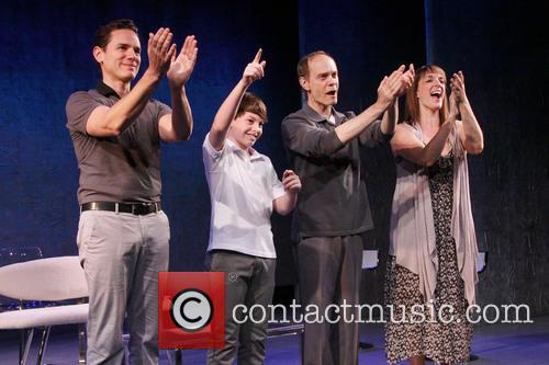 Paul Anthony Stewart, Frankie Seratch, David Hyde Pierce and Julia Murney 5