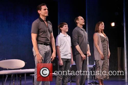 Paul Anthony Stewart, Frankie Seratch, David Hyde Pierce and Julia Murney 6