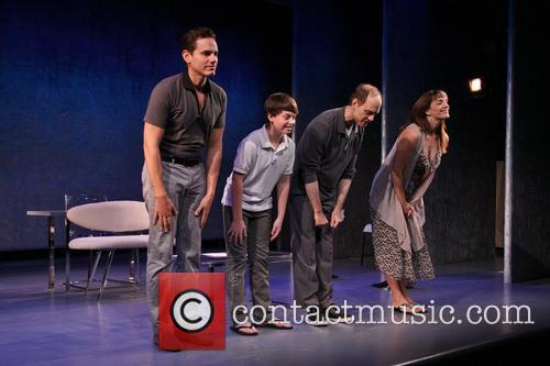 Paul Anthony Stewart, Frankie Seratch, David Hyde Pierce and Julia Murney 7