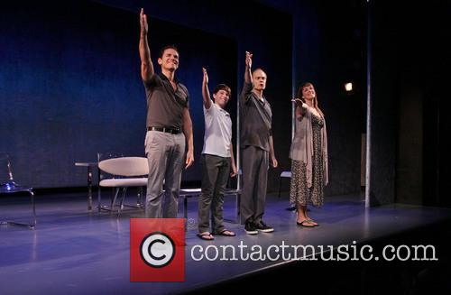 Paul Anthony Stewart, Frankie Seratch, David Hyde Pierce and Julia Murney 8