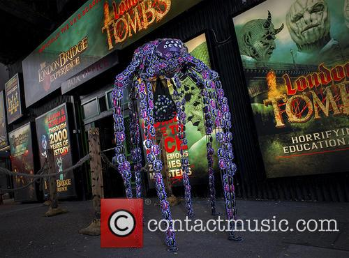 Giant Cadbury Crunchy Spider and Halloween 2