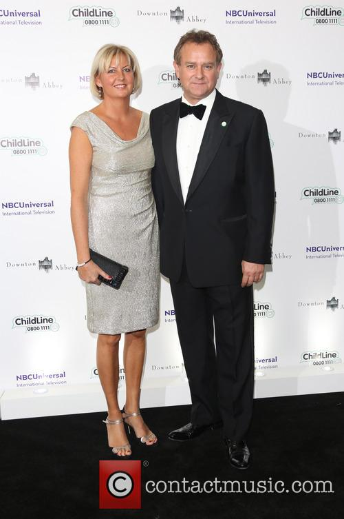 Hugh Bonneville and Wife 2