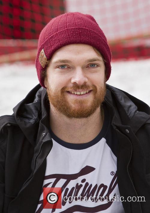 Dom Harrington opens the 'London Snow' event