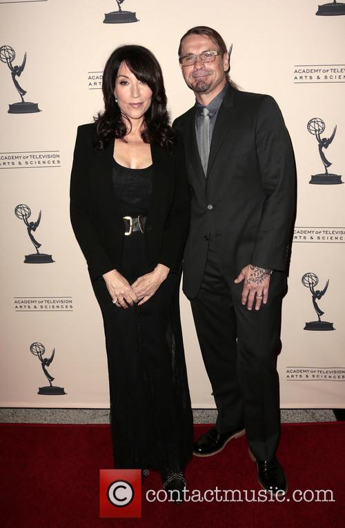 Katey Sagal and Kurt Sutter 2
